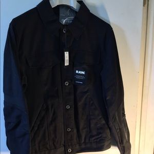G-star Raw black denim jacket